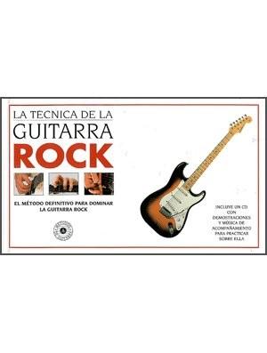 La técnica de la guitarra rock