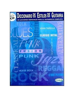 Diccionario de estilos de guitarra