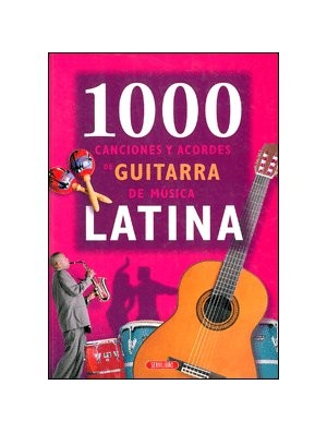 1000 canciones y acordes de guitarra de música latina