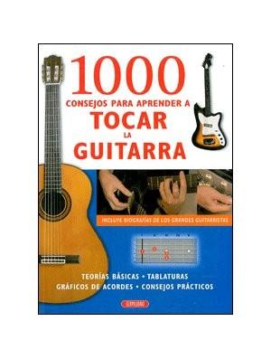 1000 consejos para aprender a tocar la guitarra