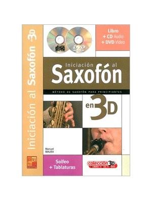 Iniación al saxofón en 3D