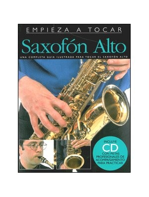 Empieza a tocar el saxofón alto