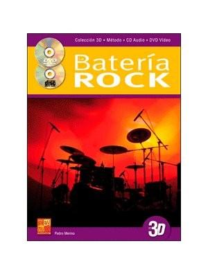 Iniciación a la batería rock en 3D