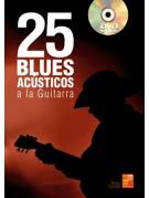 25 blues acústicos a la guitarra