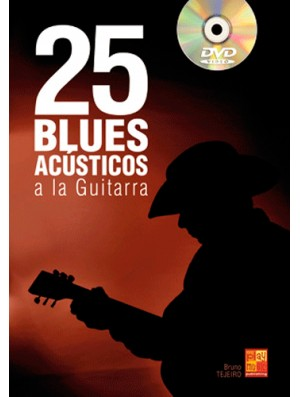 25 blues acústicos a la guitarra
