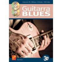 La guitarra blues en 3D