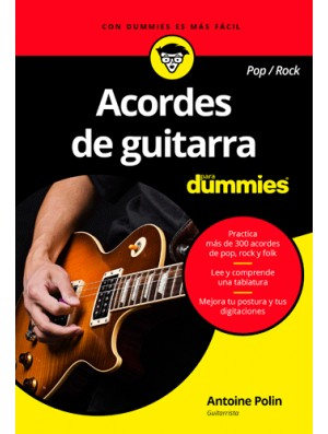 Acordes de guitarra pop rock para dummies