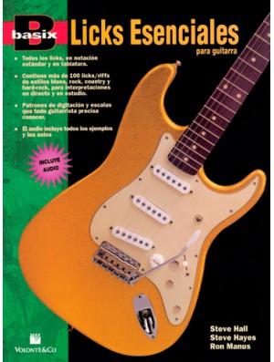 Licks esenciales para guitarra