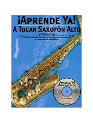 Aprende a tocar el saxofón alto
